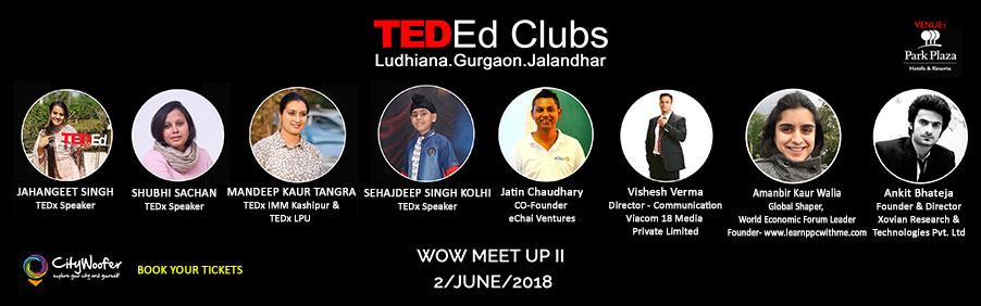 TED-Ed WOW 2018 & eChai Ludhiana