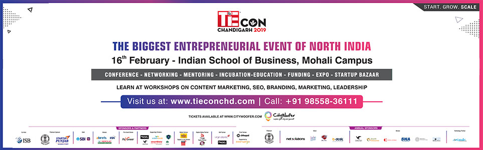 TiECON Chandigarh 2019, an Event for Entrepreneurs | Startups