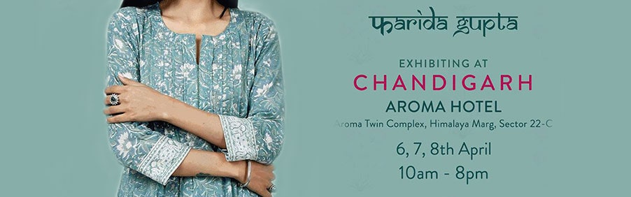 Farida Gupta in Chandigarh with Their Latest Spring Summer Collection