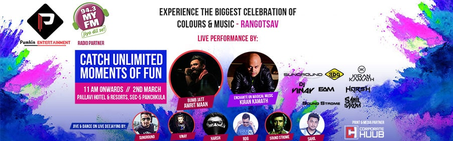 Rangotsav Music Fest is the Place to be this Holi-Day